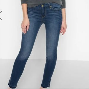 B(air) High Waist Ankle Skinny With Released Side